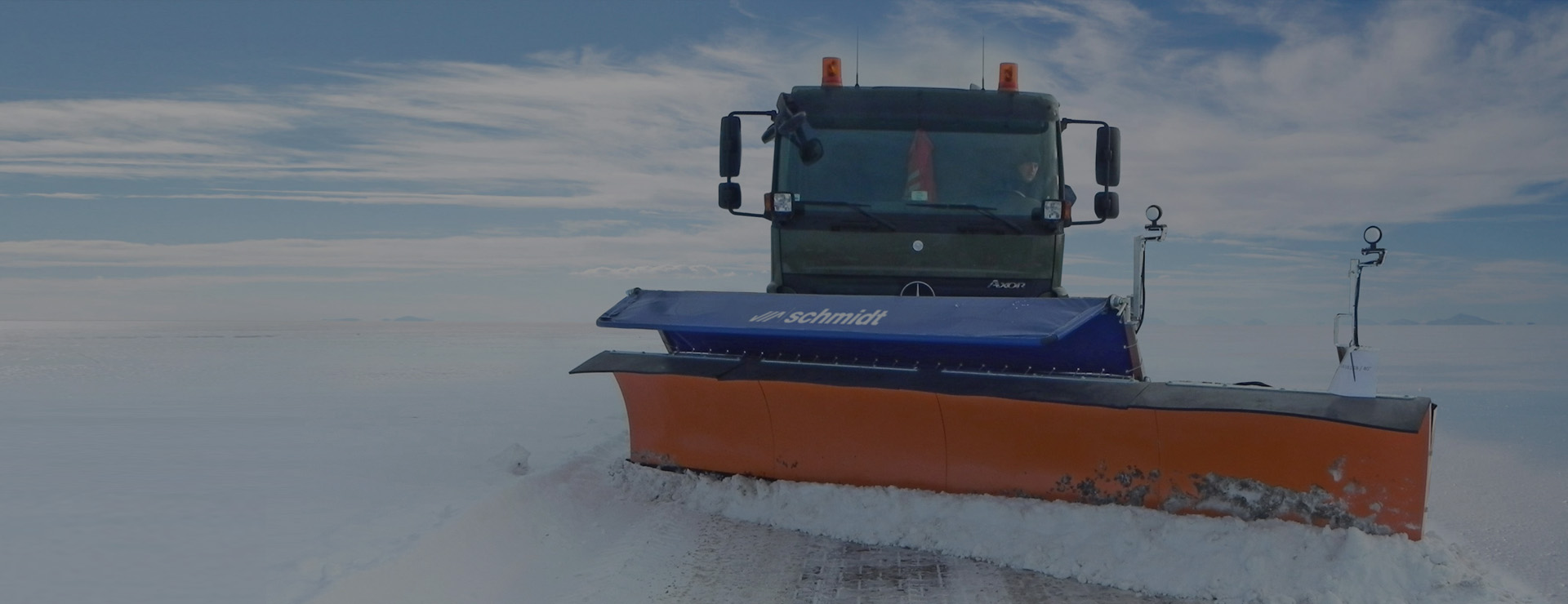 SCHMIDT airport technologies of snow clearing